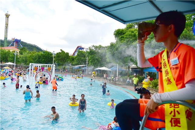 文明旅游从陆地到水上,广东盈香水上乐园对游