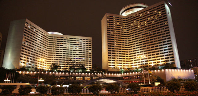 广州花园酒店------国首批三家白金酒店