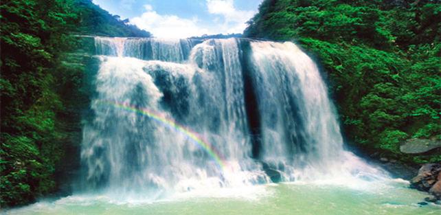 广东省内不为人知的绝美瀑布