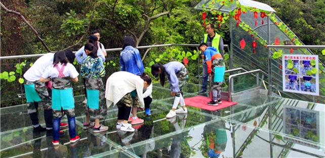 佛山南丹山建成全国首个低空游览景区,空中游览体验项目长2000多米