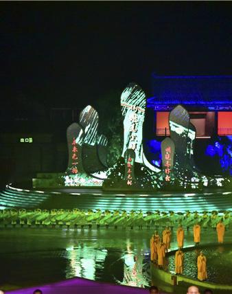广东新兴借《六祖大典》实景演出扬帆出海,打造国际文化旅游品牌