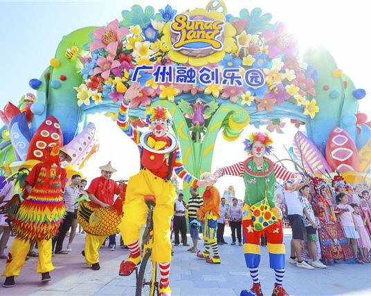 华南最大室内滑雪场——广州融创乐园雪世界冰爽来袭