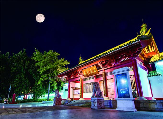 岭南最佳赏月点在肇庆,一网打尽山涧月湖中月江中月